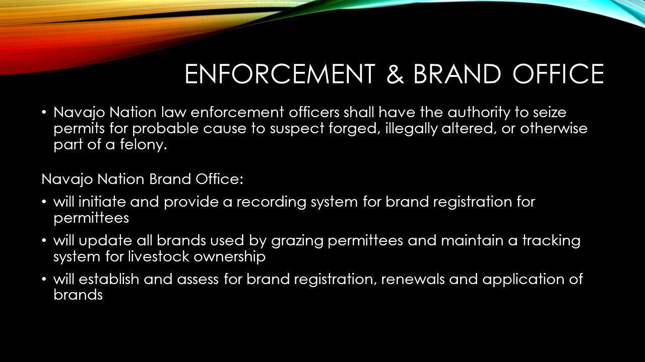 Enforcement & Brand office