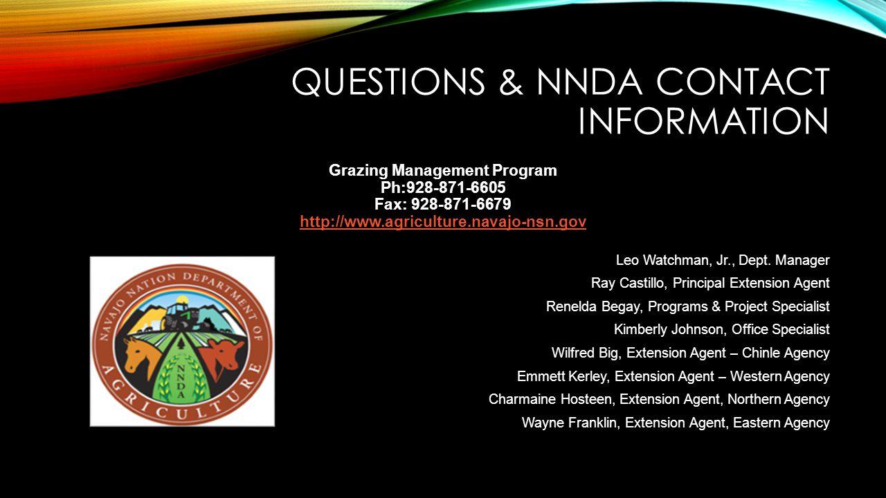 Grazing Management Program