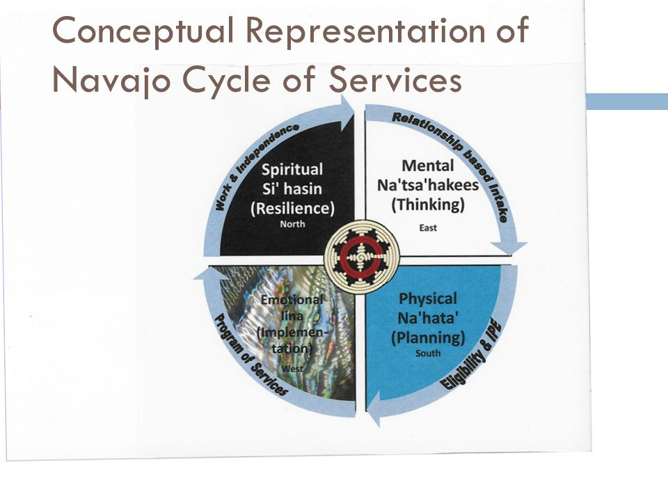 Conceptual Representation of Navajo Cycle of Services