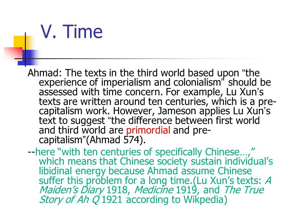 V. Time