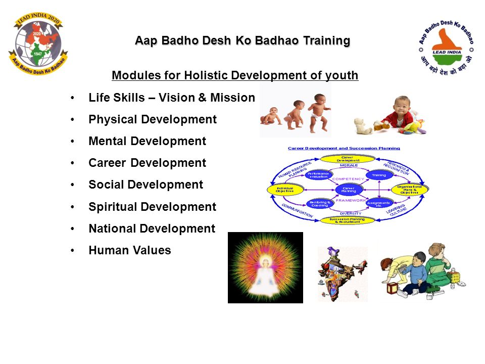 Aap Badho Desh Ko Badhao Training