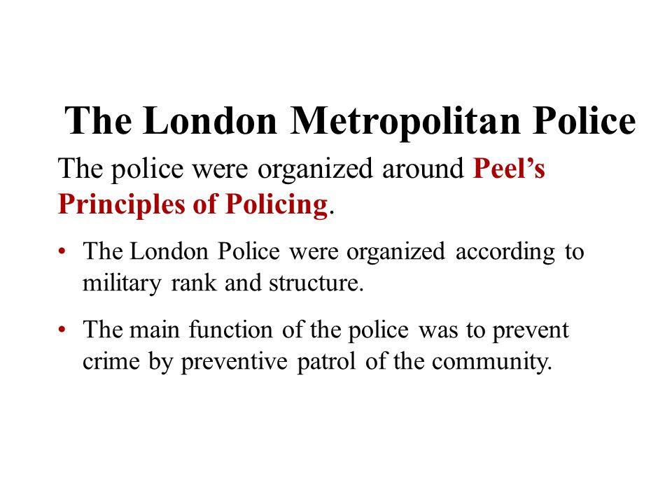 The London Metropolitan Police