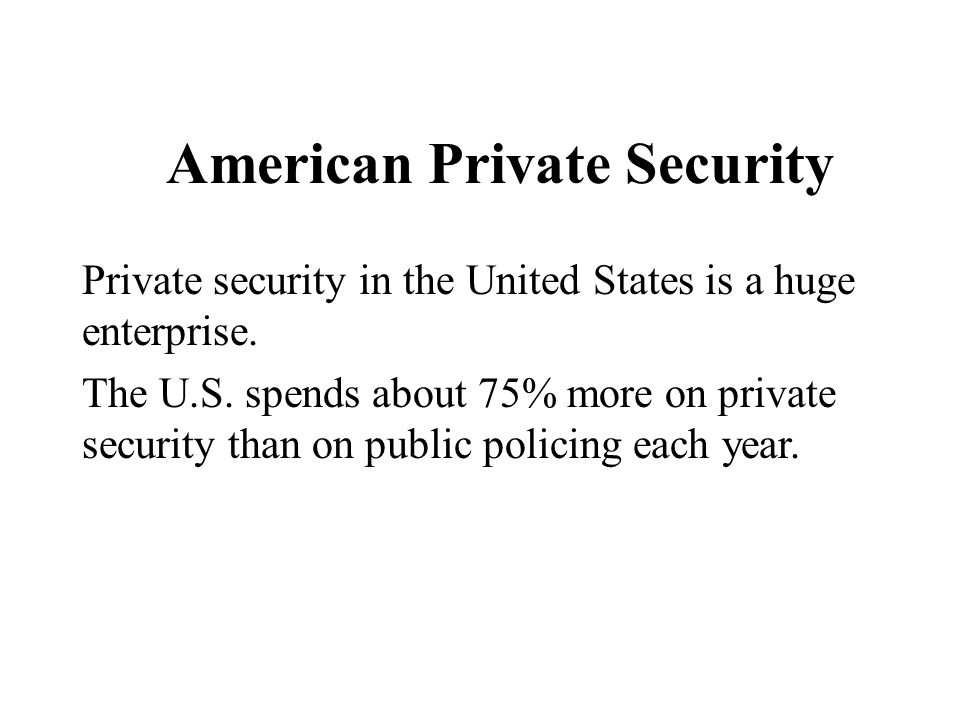 American Private Security