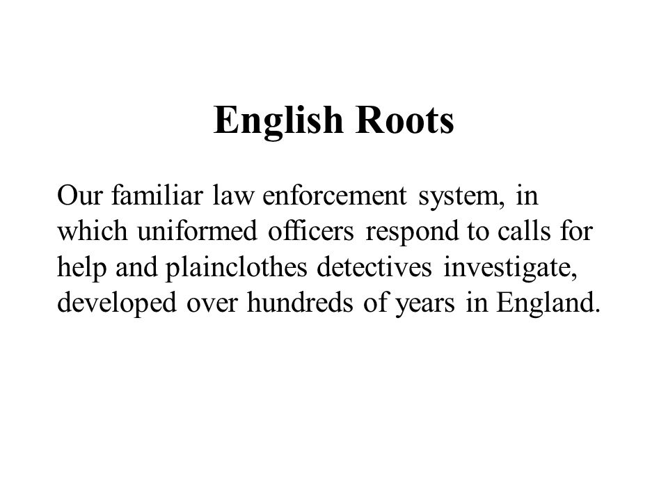 English Roots