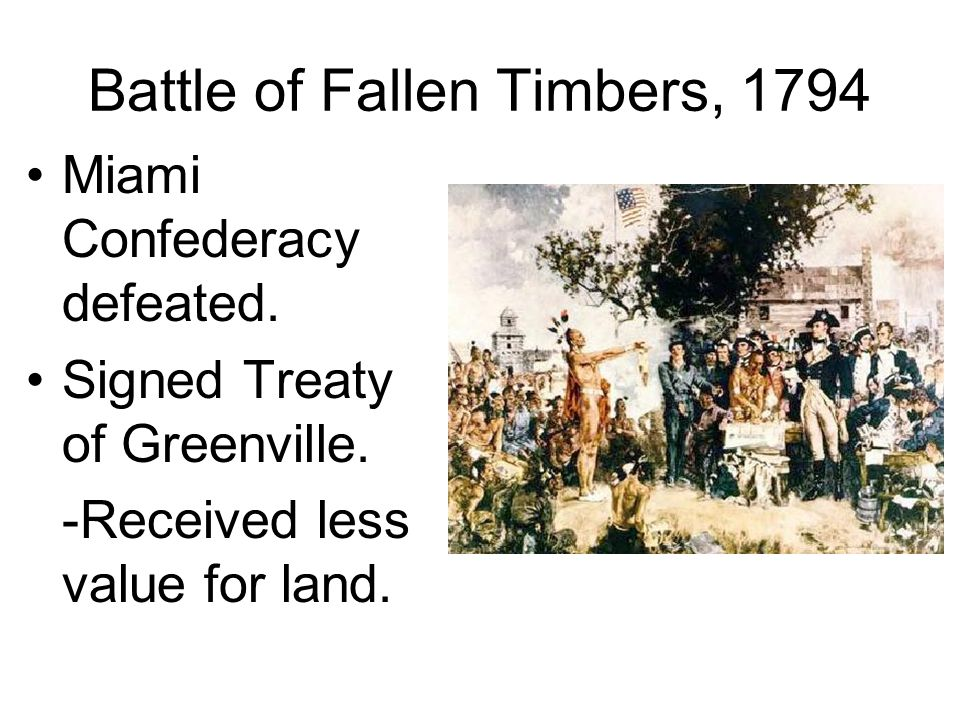 Battle of Fallen Timbers, 1794