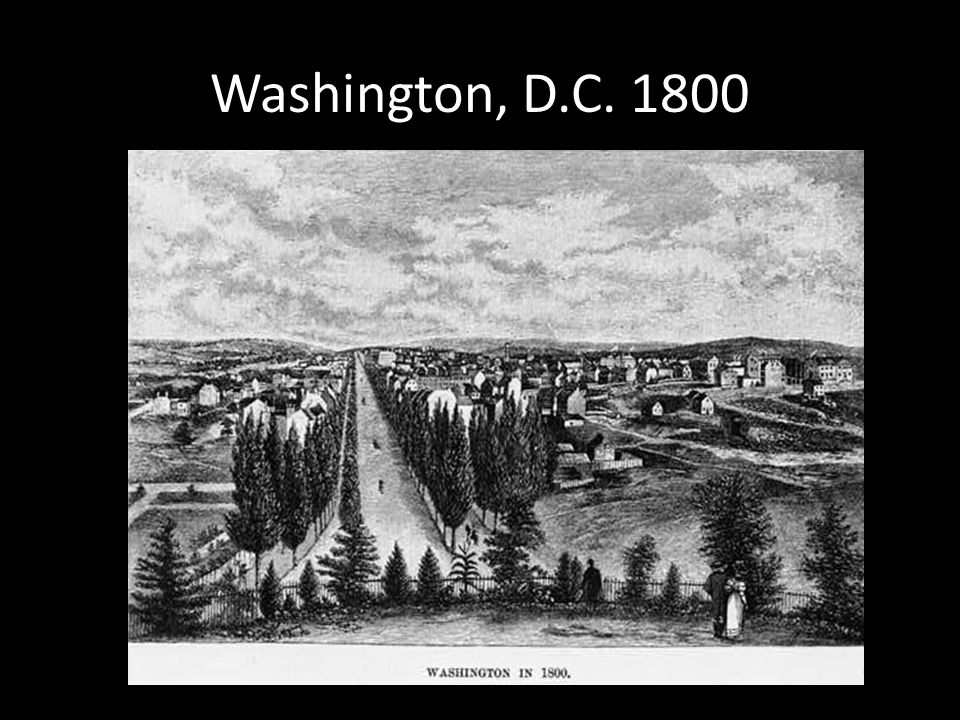 Washington, D.C. 1800