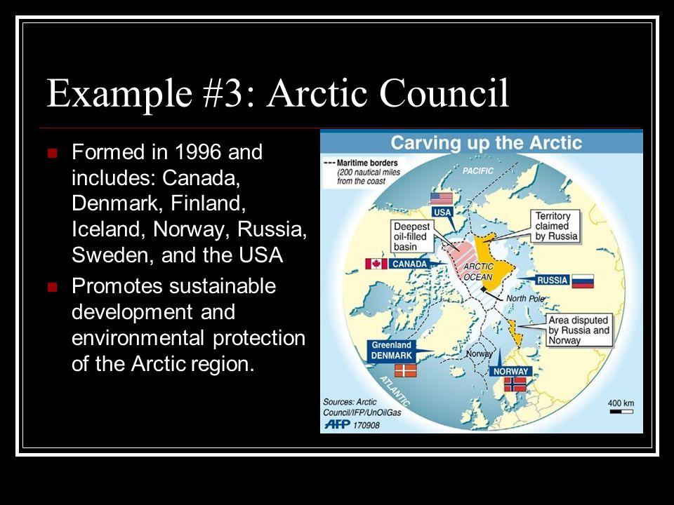 Example #3: Arctic Council