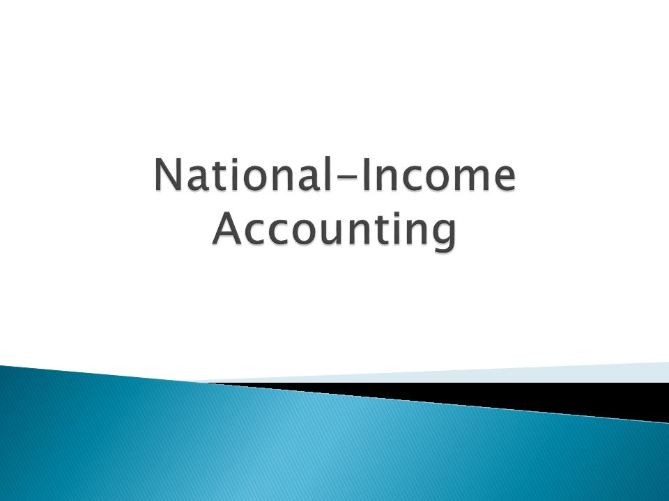 National-Income Accounting