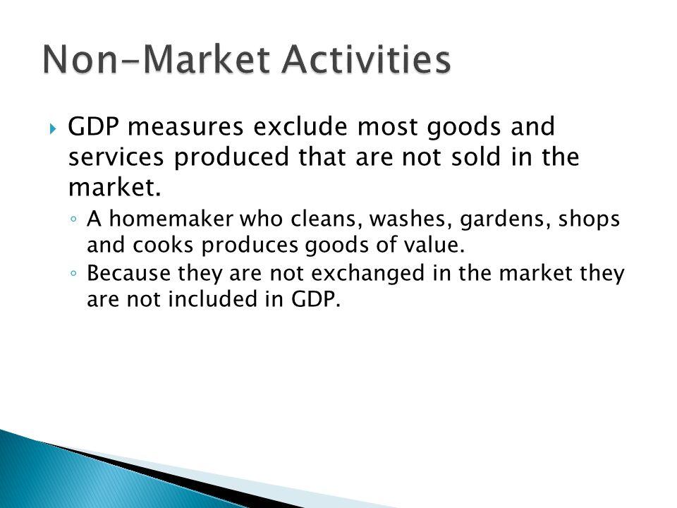 Non-Market Activities
