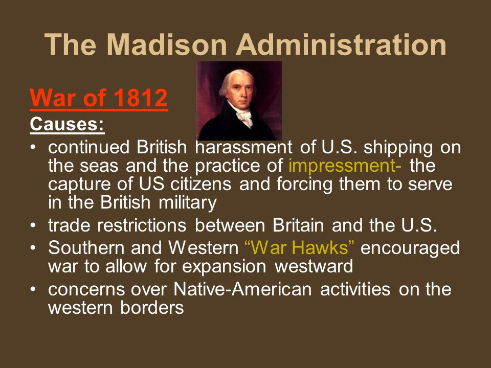 The Madison Administration