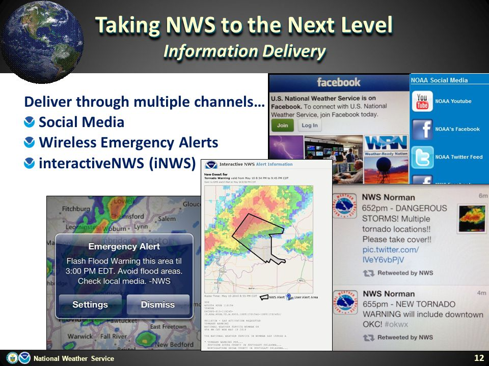 Taking NWS to the Next Level