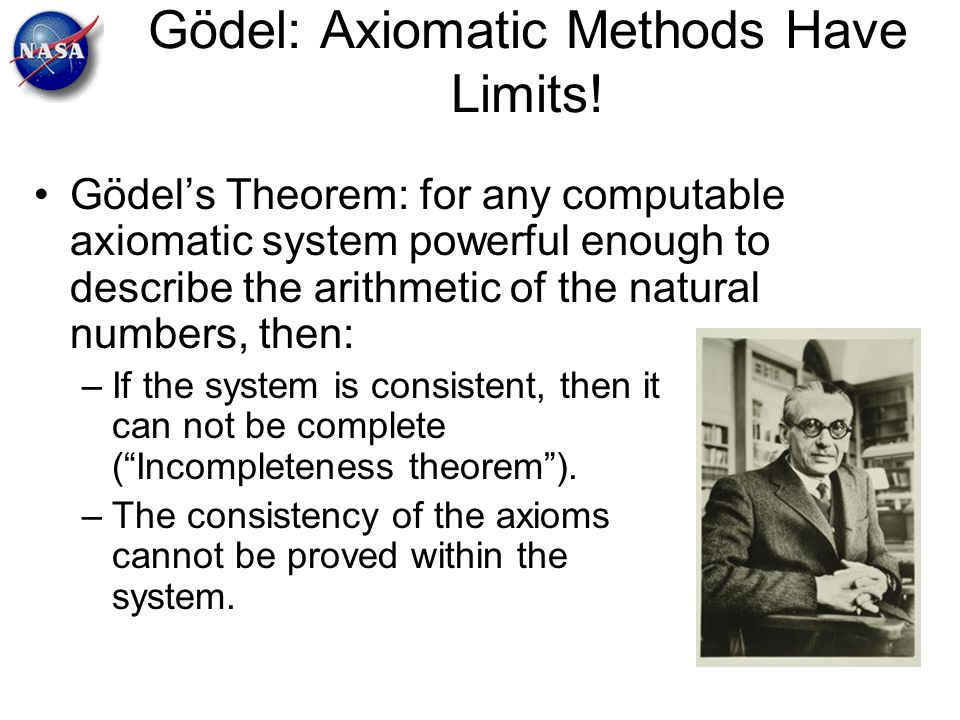 Gödel: Axiomatic Methods Have Limits!