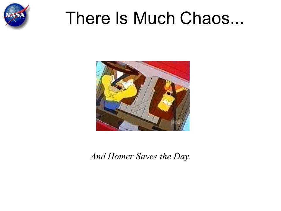 There Is Much Chaos... And Homer Saves the Day.