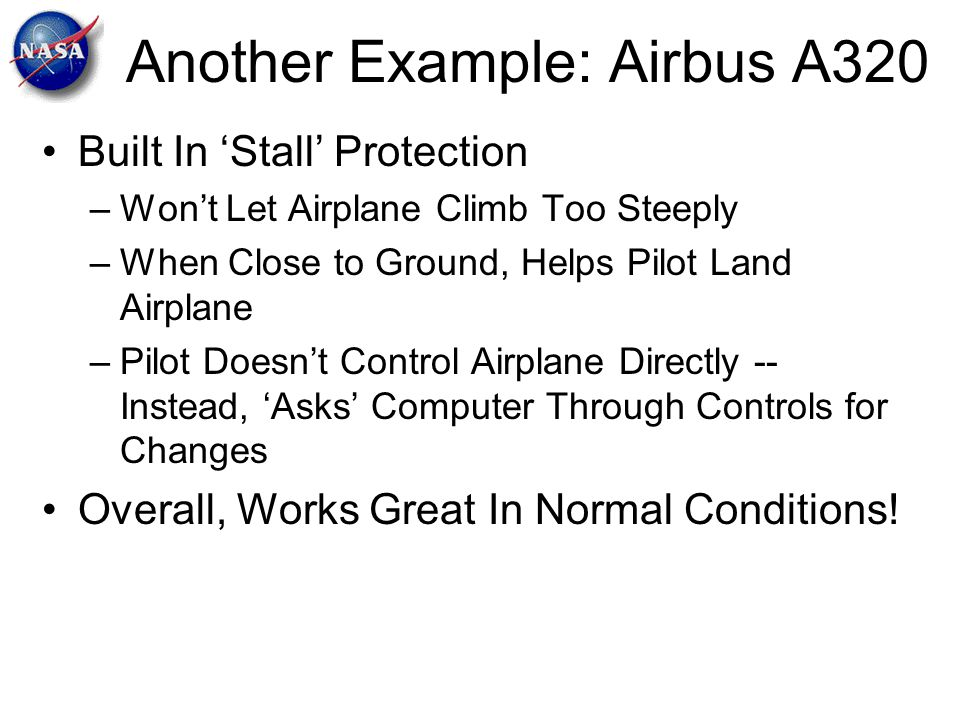 Another Example: Airbus A320