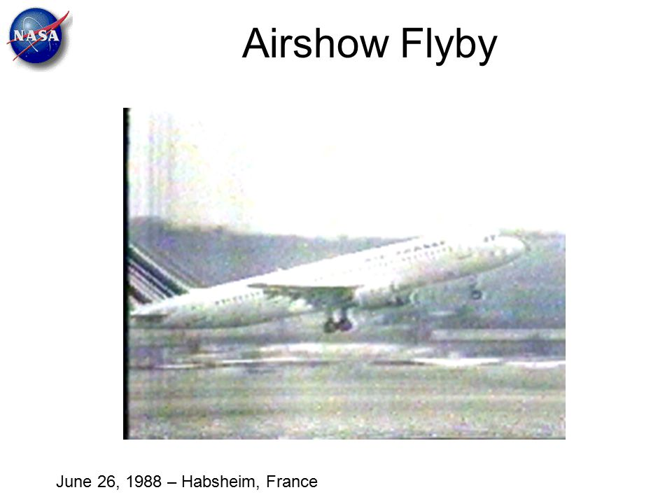 Airshow Flyby June 26, 1988 – Habsheim, France