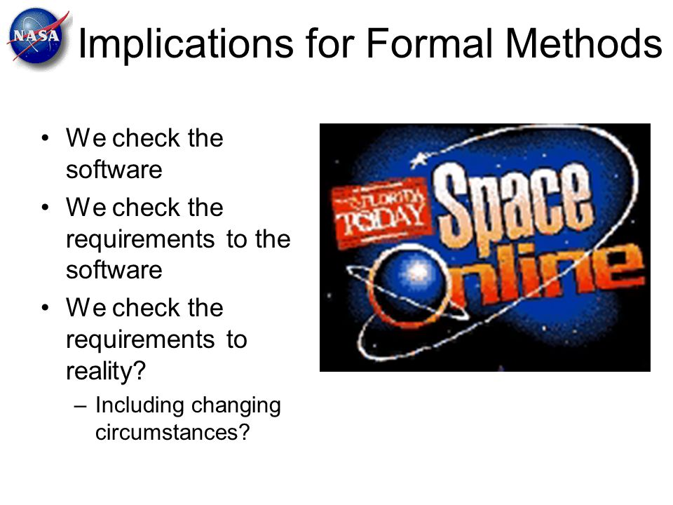 Implications for Formal Methods