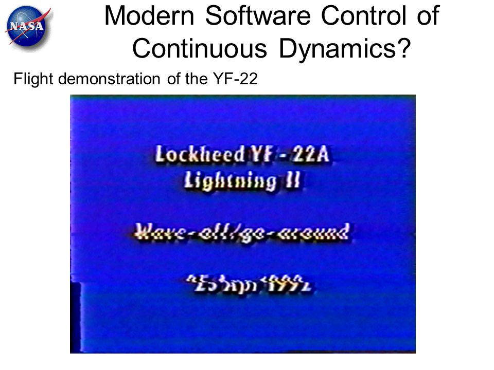 Modern Software Control of Continuous Dynamics