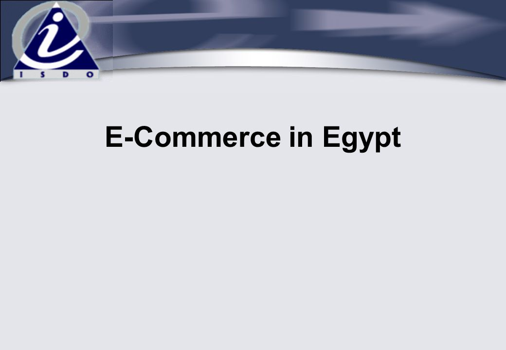 E-Commerce in Egypt