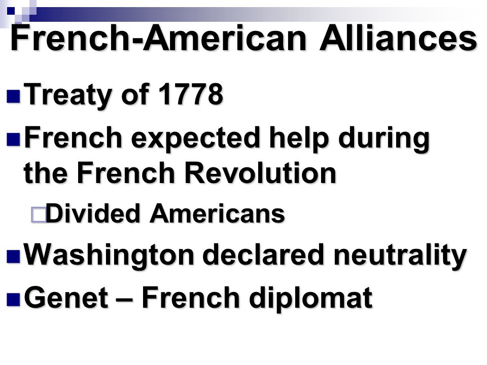 French-American Alliances