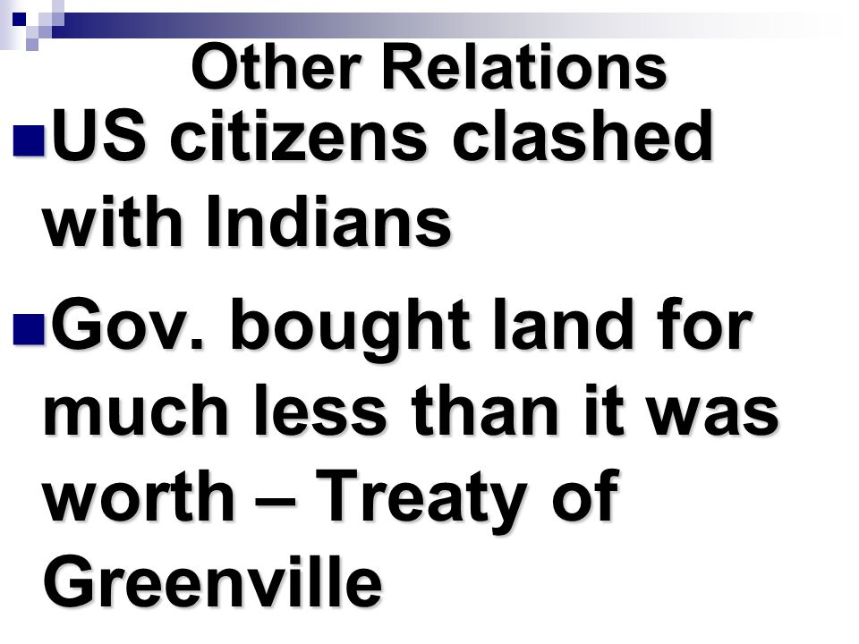 US citizens clashed with Indians