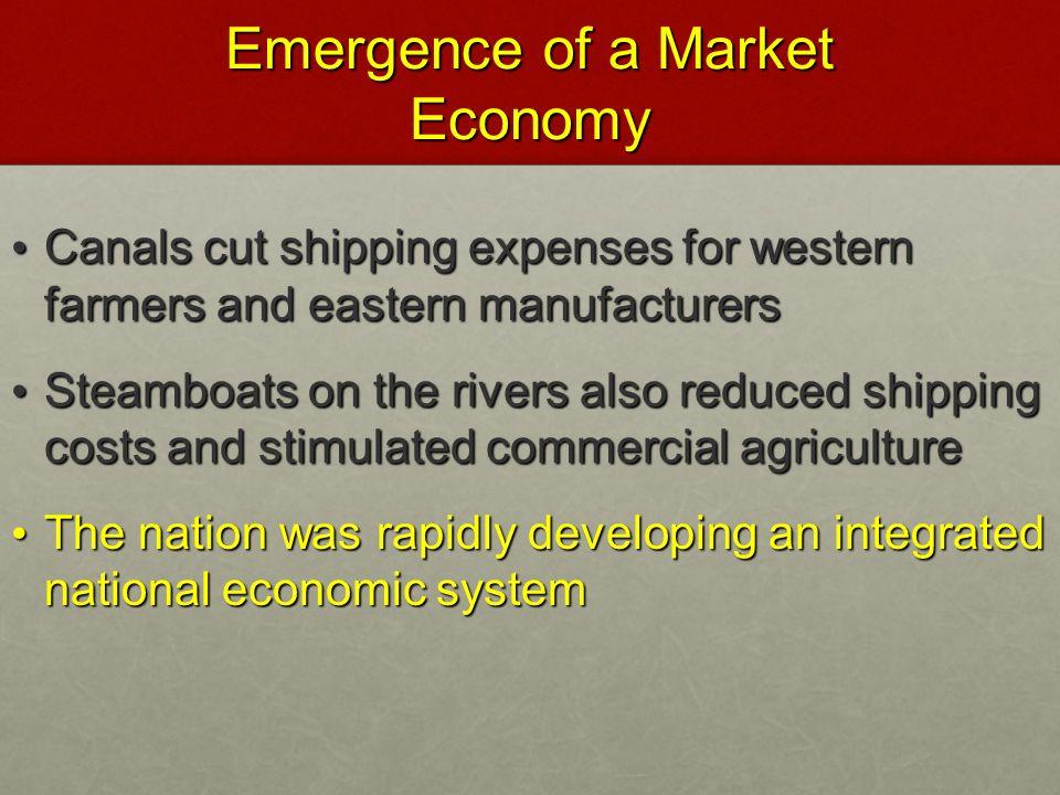 Emergence of a Market Economy