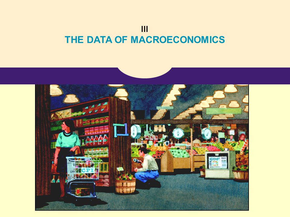 THE DATA OF MACROECONOMICS