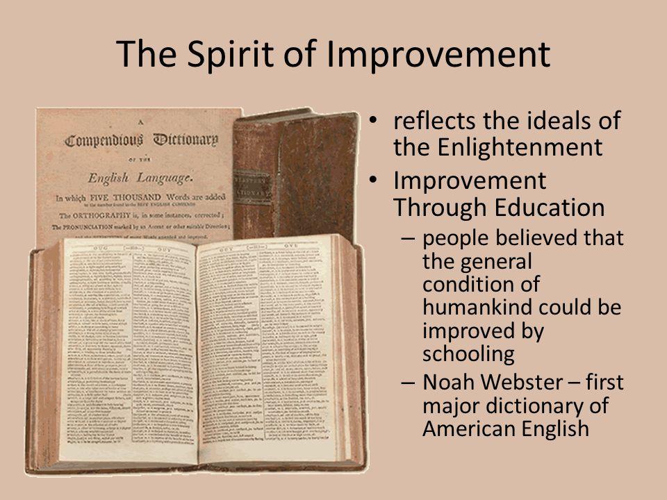 The Spirit of Improvement