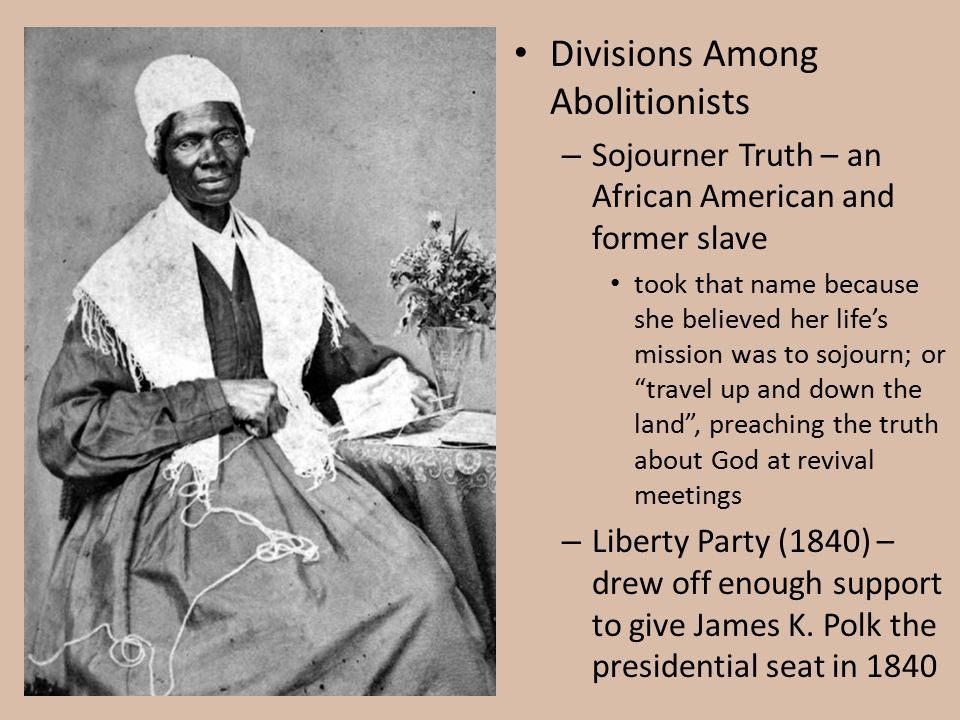 Divisions Among Abolitionists