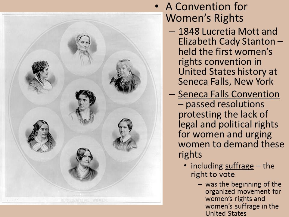 A Convention for Women's Rights