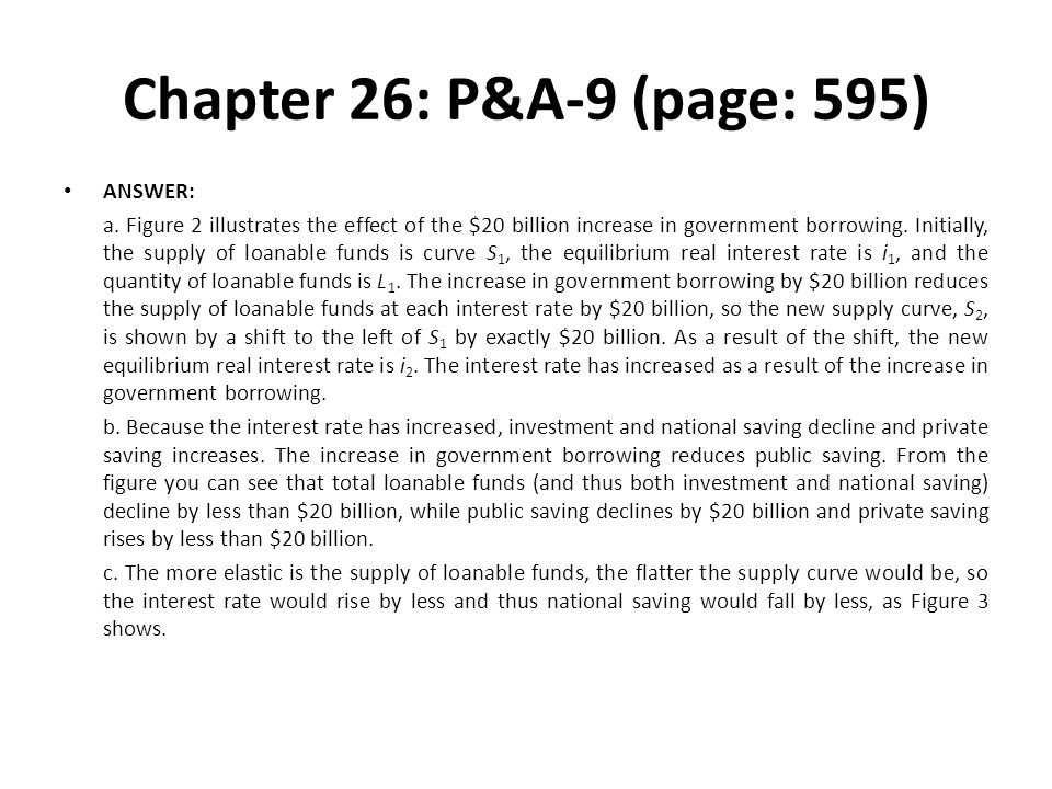 Chapter 26: P&A-9 (page: 595) ANSWER: