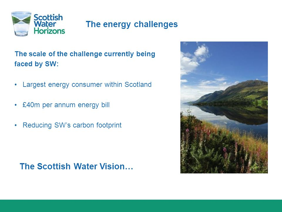 The Scottish Water Vision…
