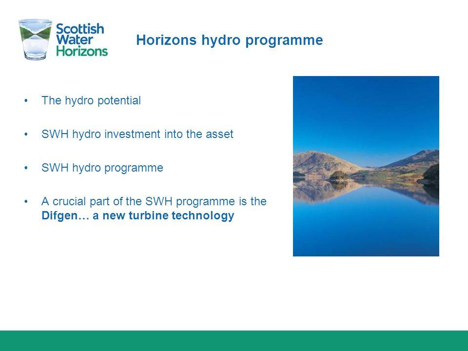 Horizons hydro programme