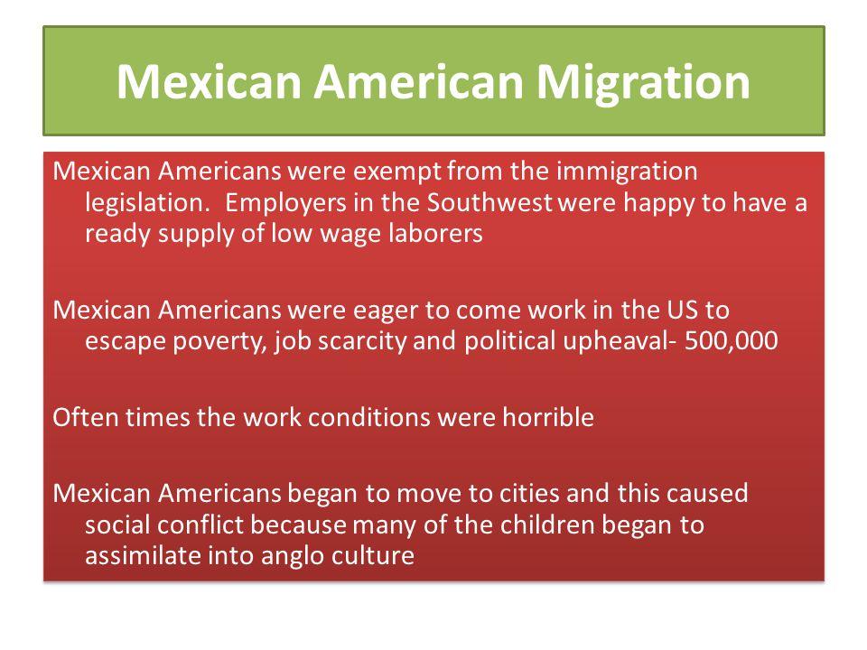 Mexican American Migration