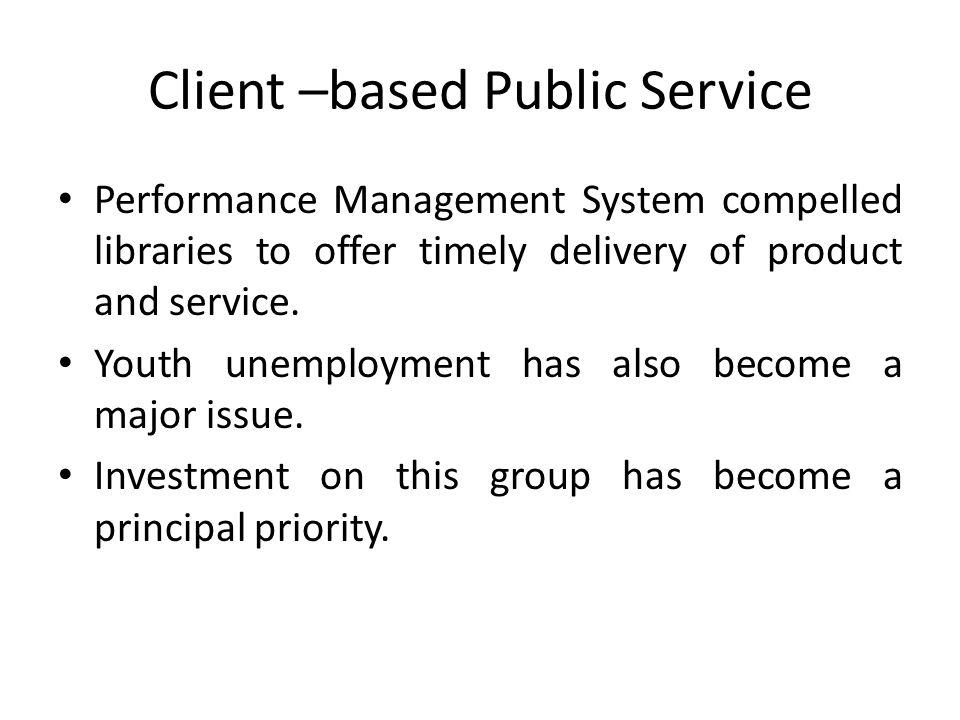 Client –based Public Service