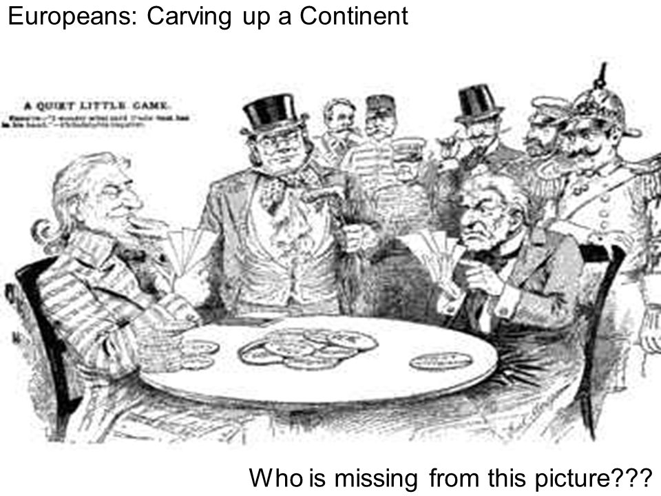 Europeans: Carving up a Continent