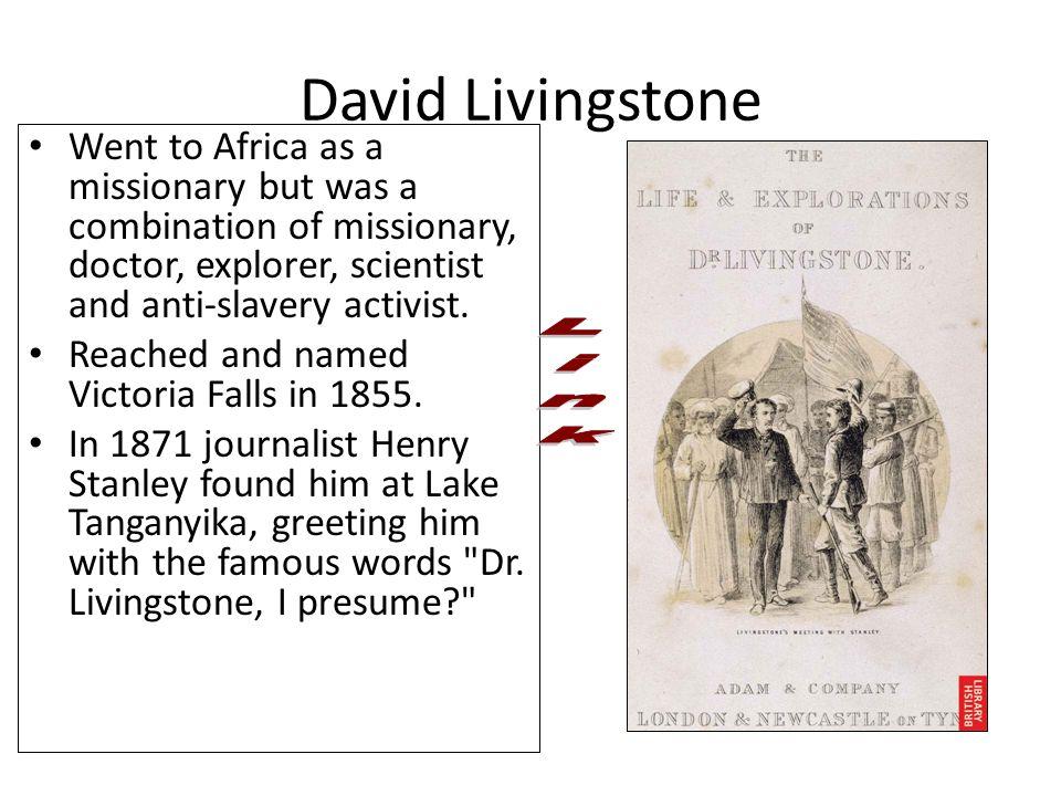 David Livingstone Link