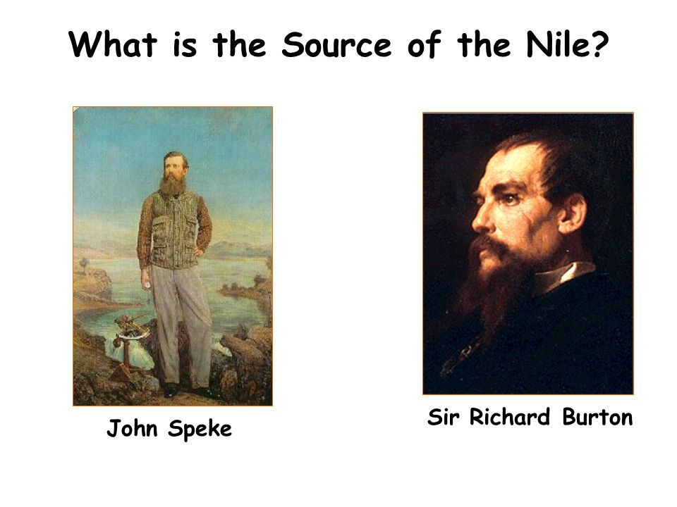 What is the Source of the Nile