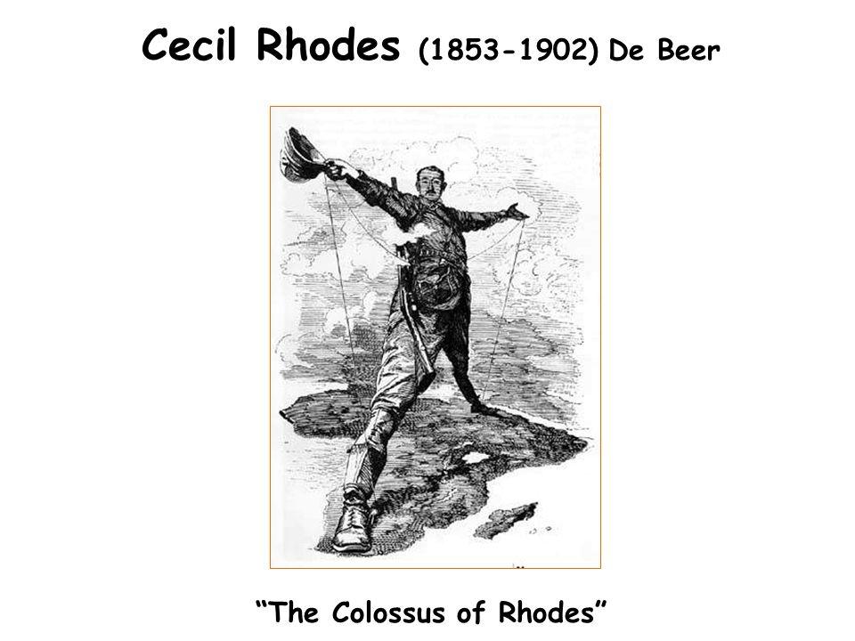 Cecil Rhodes (1853-1902) De Beer The Colossus of Rhodes