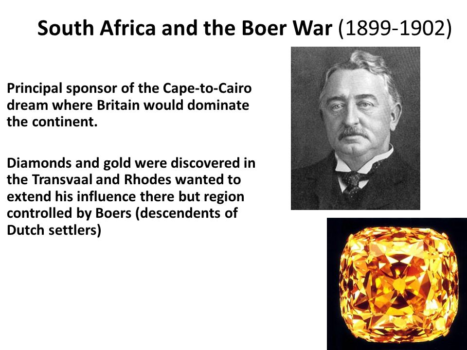 South Africa and the Boer War (1899-1902)