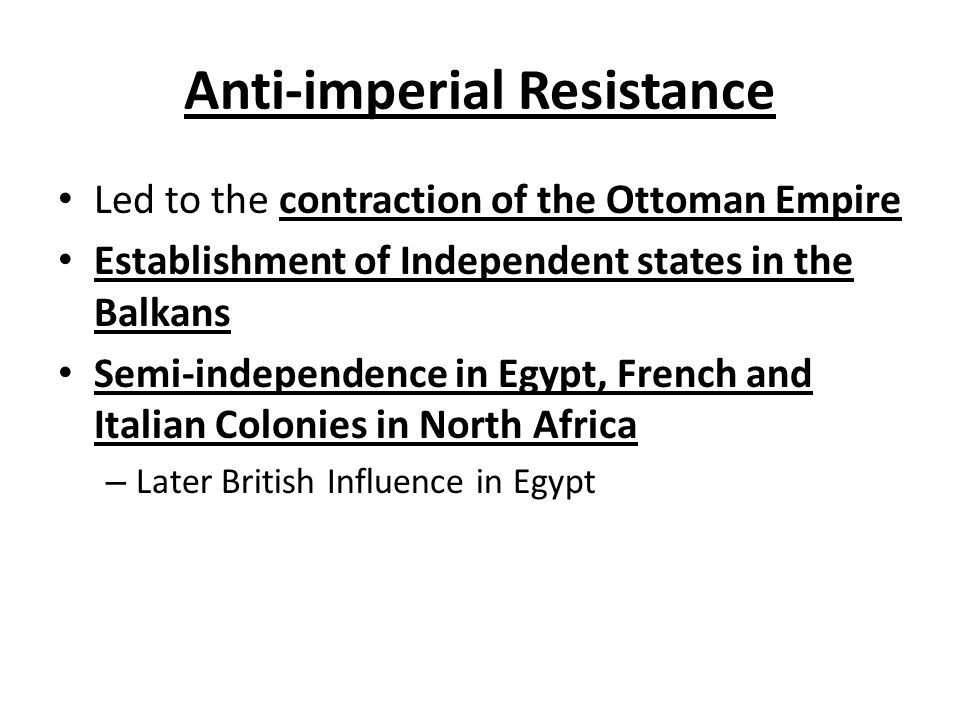Anti-imperial Resistance