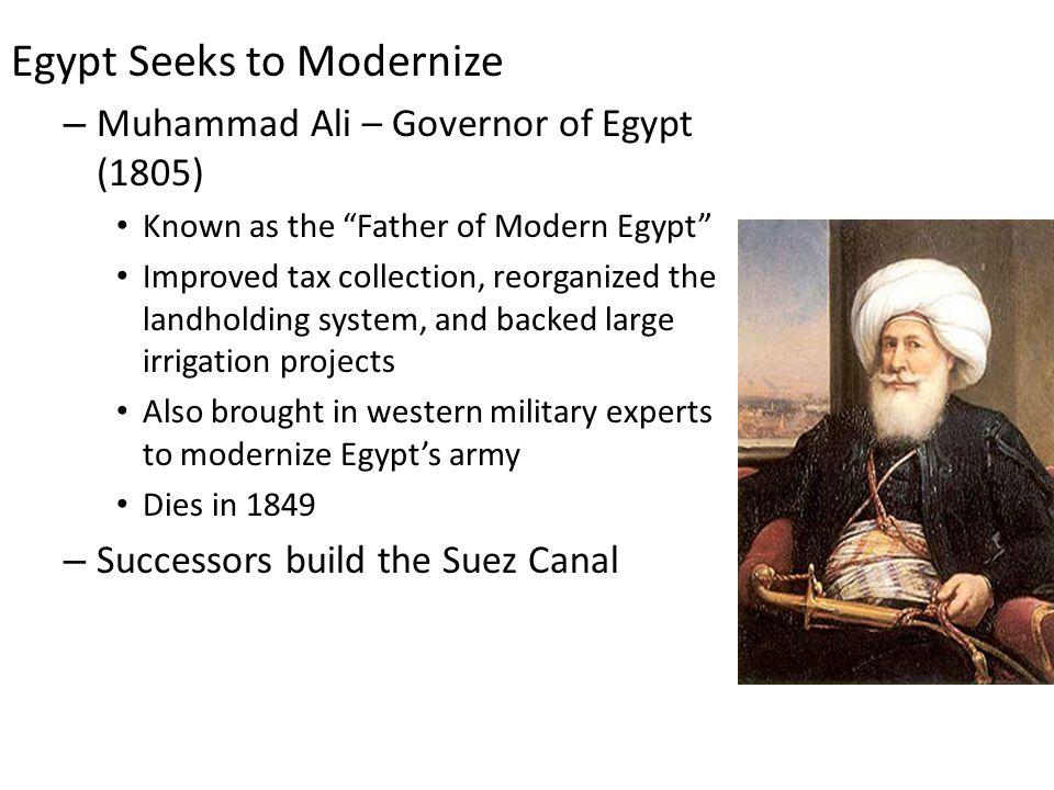 Egypt Seeks to Modernize