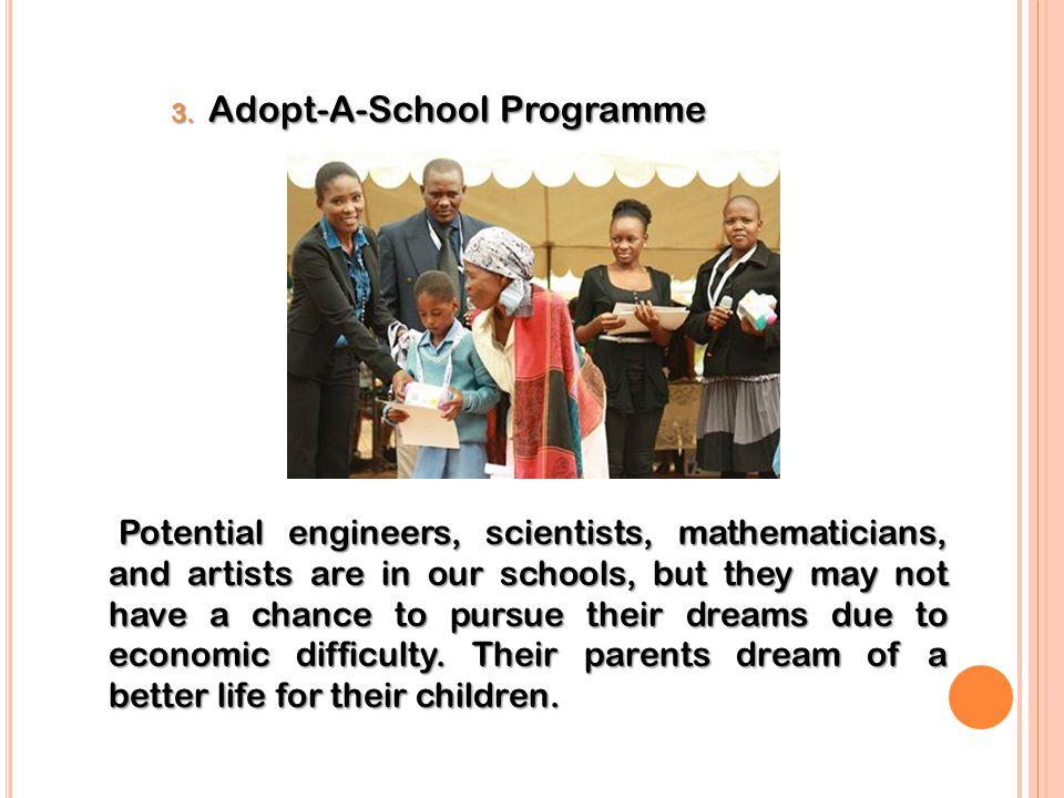 3. Adopt-A-School Programme
