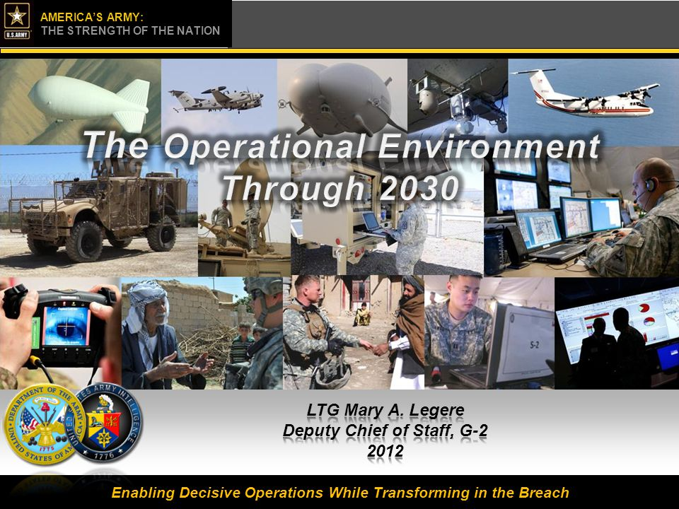 The Operational Environment Through 2030