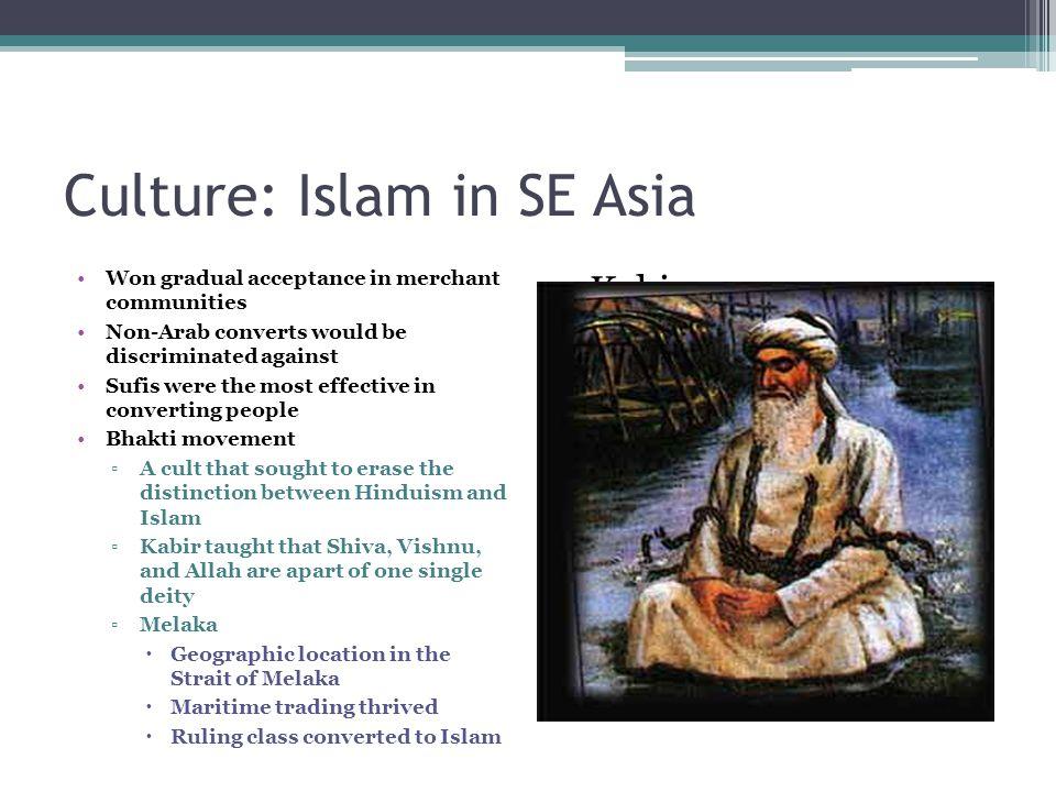 Culture: Islam in SE Asia