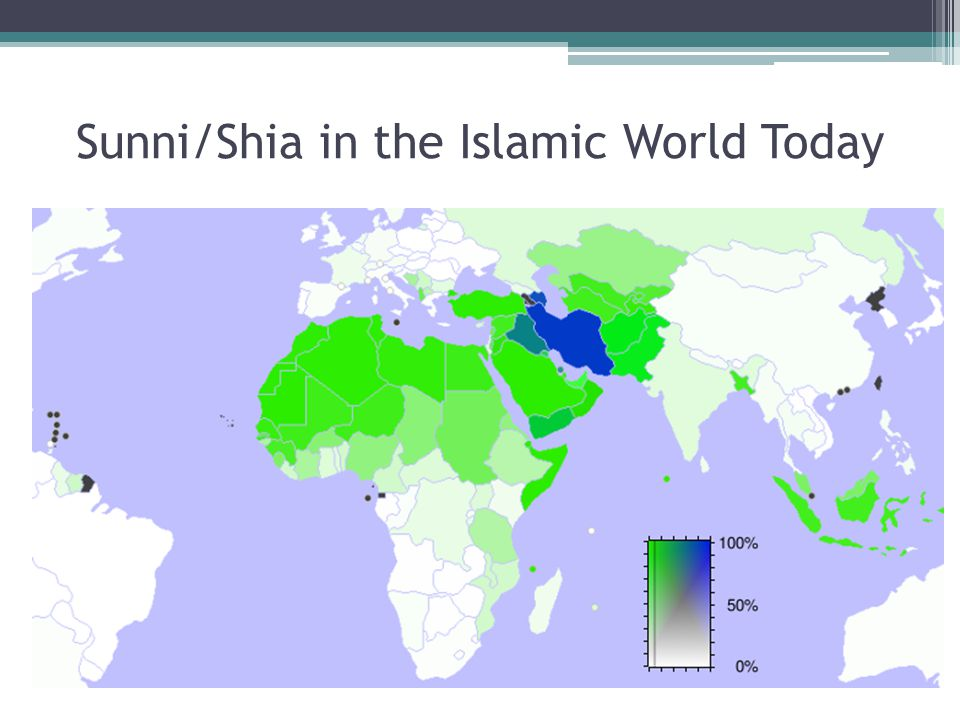 Sunni/Shia in the Islamic World Today