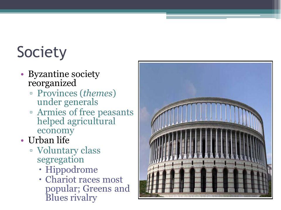 Society Hippodrome Byzantine society reorganized