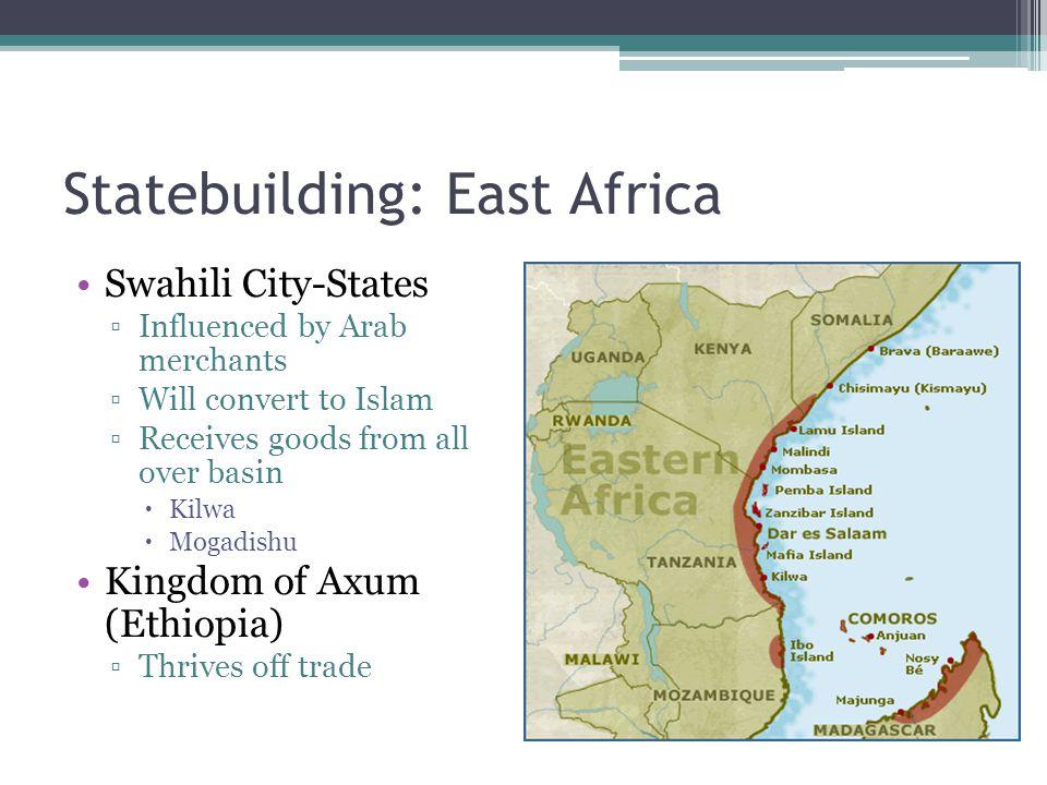 Statebuilding: East Africa