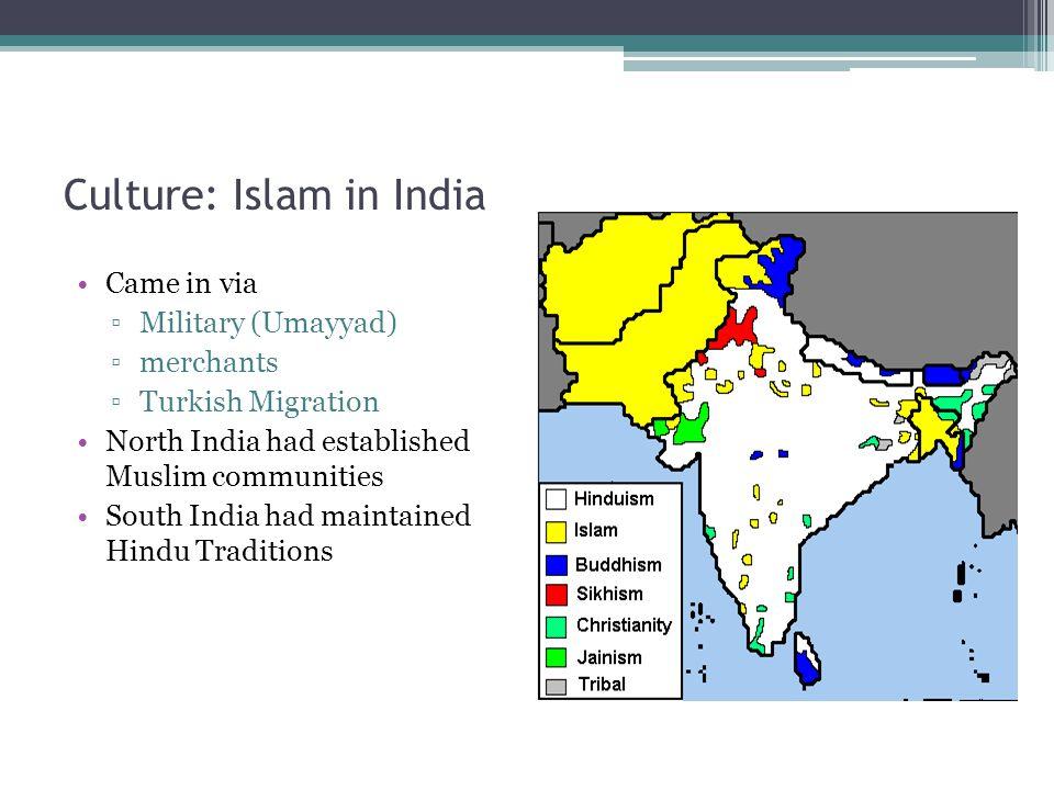 Culture: Islam in India