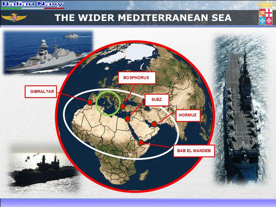 THE WIDER MEDITERRANEAN SEA