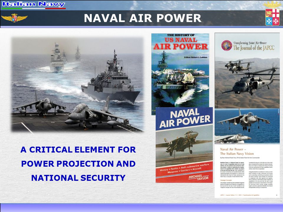 NAVAL AIR POWER A CRITICAL ELEMENT FOR POWER PROJECTION AND